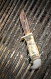 Faca oxidada velha Imagens de Stock Royalty Free