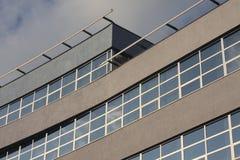 Facade. Detail view of facade curves Royalty Free Stock Image