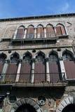 Facade. Old building facade detail. Old facade Stock Photography