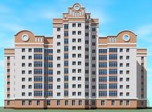 facade illustrazione vettoriale