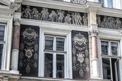 facade Fotografia Stock Libera da Diritti