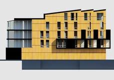 facade royalty-vrije illustratie