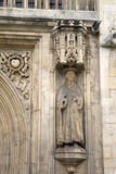 Facade of Abbey, Bath Royalty Free Stock Photography