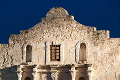 Alamo Facade at Night Stock Image