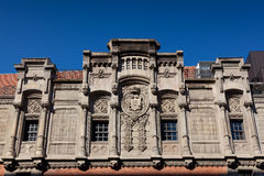 Facade of the Alhondiga Royalty Free Stock Image
