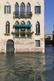 Facade along the Grand Canal (Venice) Royalty Free Stock Photography