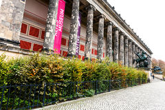 Facade of Altes Museum (Old Museum) in Berlin Royalty Free Stock Photo