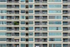 Facade of an apartment building in Bangkok Stock Photos