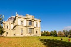 facade of Ariana museum Geneva, Switzerland Royalty Free Stock Images