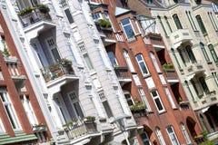 Facade of an Art Nouveau building Royalty Free Stock Image