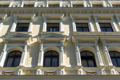 Facade of Art Nouveau building Royalty Free Stock Image