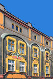 Facade of an Art Noveau tenement Royalty Free Stock Photography