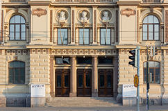 Facade of Ateneum Art Museum in Helsinki Royalty Free Stock Photos