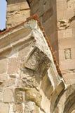 Facade av den gammala ortodoxkyrkan Royaltyfri Fotografi