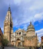 Sanktt Mary av Toledo; en domkyrka i Spanien Arkivbilder