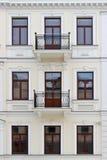 Facade av en byggnad Royaltyfri Fotografi