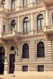 Facade av en gammal byggnad Royaltyfria Bilder