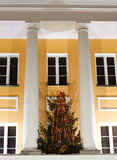 Facade av en kontorsbyggnad Royaltyfria Foton