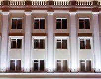 Facade av en kontorsbyggnad Royaltyfri Foto
