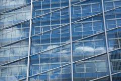 Facade av en kontorsbyggnad Fotografering för Bildbyråer