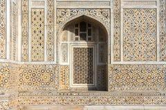 Facade of `Baby Taj` mausoleum in Agra, India. stock image