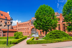 Facade of Baltic Philharmonic in Gdansk Royalty Free Stock Photo