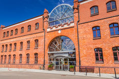 Facade of Baltic Philharmonic in Gdansk Stock Photo