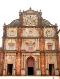 Facade of Basilica of Bom Jesus church Stock Photo
