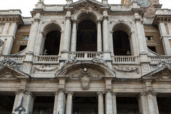 Facade of Basilica di Santa Maria Maggiore in Rome, Royalty Free Stock Photo
