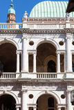 Facade of basilica palladiana in Vicenza Stock Image