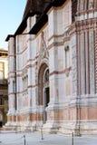 Facade of Basilica of San Petronio in Bologna Royalty Free Stock Photos