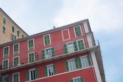 Facade of Bastia, Corsica Royalty Free Stock Photography