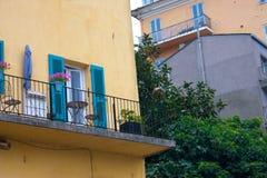 Facade of Bastia, Corsica Stock Image