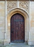 Facade from Bath cathedral. And blue sky Royalty Free Stock Photography