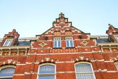 The facade of a beautiful home  in the Dutch town Den Bosch. Royalty Free Stock Photos