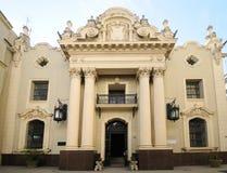Facade of beautiful old havana building Royalty Free Stock Photos