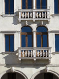 Facade of a beautiful Renaissance building Royalty Free Stock Images