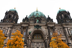 Facade of Berliner Dom in Berlin Royalty Free Stock Images