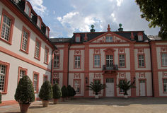 Facade of the Biebrich Palace Stock Images