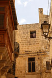 Facade in Birgu Royalty Free Stock Photography