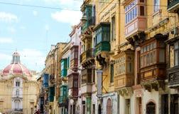 Facade in Birgu. (Vittoriosa), Malta Royalty Free Stock Photography