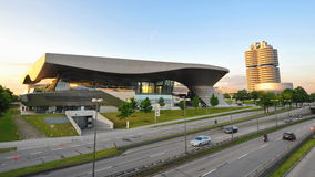 Facade of BMW Welt and HQ Royalty Free Stock Images