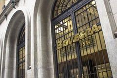 Facade of Bovespa Stock Image