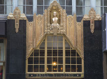 Facade at the Brill Building in Manhattan Stock Photo