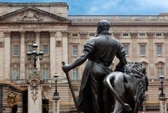 Facade Buckingham Palace, London, England Royalty Free Stock Photo