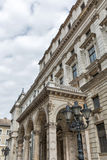 Facade of the Budapest Opera building Stock Photography