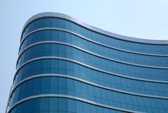 The facade of a building. The facade of a modern building Royalty Free Stock Photo