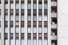 Facade of the building Stock Photo