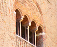 Facade of the building Stock Photos