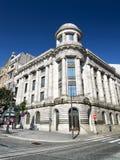 The facade of building on the Avenue of the Allies (Avenida dos Stock Photos